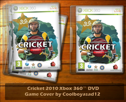Cricket 2010 Game Cover by Coolboyasad12