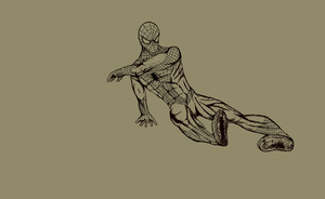 Spider-Man - Line Art by shadefalcon