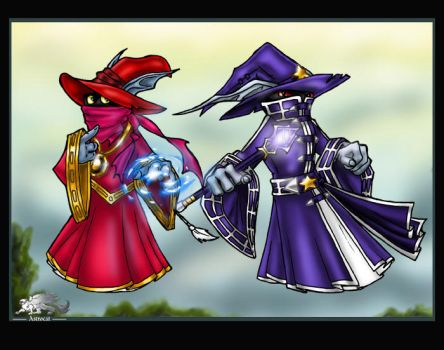 Orko and Arkon by Astrocat