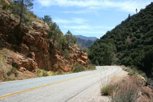 Road from Kern River to Bakersfield by Dr-J-Zoidberg