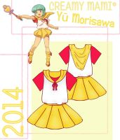 Yu Morisawa Cosplay Design Draft by Hollitaima