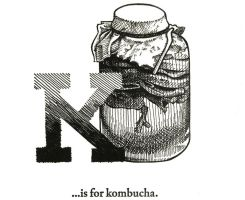 K is for Kombucha by scheherazade