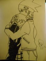 Don't Cry Maka by SnowFallAtTwilight