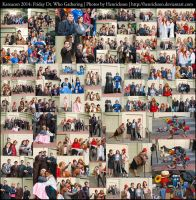 Katsucon 2014: Friday Dr. Who Gathering Collage by Henrickson