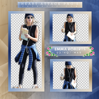 +Photopack png de Emma Roberts. by MarEditions1