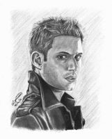 Dean Winchester (Jensen Ackles) by mystic-pUlse