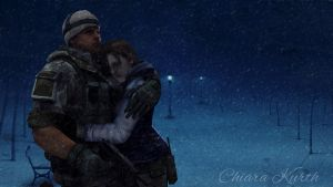 Jill Valentine and Chris Redfield 5 by mk-re55