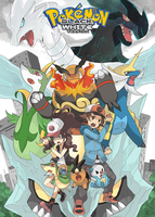 Pokemon Black and White by seiryuuden