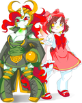 lady loki pony and cardcaptor sakura pony cosplay by draw4you1995