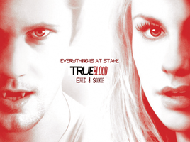 Eric and Sookie Wallpaper - Season 5 by Vampiric-Time-Lord