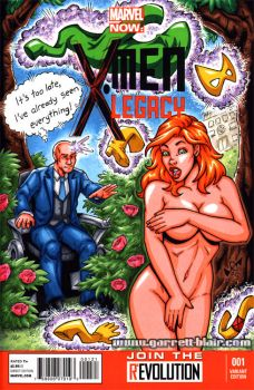 Pervy Professor sketch cover by gb2k