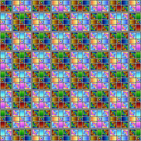 Chromatic Checker Pattern by Humble-Novice