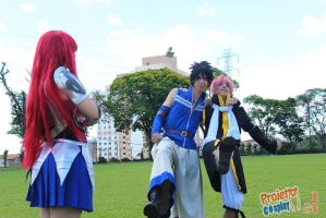 That's how friends should be like by TitaniaxCosplay
