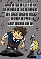 Anti-Bullying poster for School by BillyBCreationz