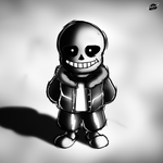 Undertale - Sans by Twisted4000