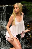 Kahli - pink top 1 by wildplaces