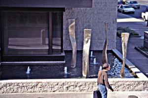 The Family,sculpture fountains by ou8nrtist2