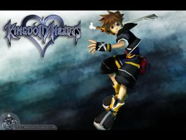 Kingdom Hearts : Sora by Moogart