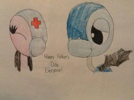 Clare and Her Father (Father's Day Picture) by Strongcheetah24