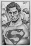 EVIL SUPERMAN B+W by Bungle0