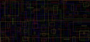 The Neon Universe in boxes by hobbogoes360