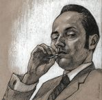 Pete Campbell Tokes Up by SuburbanAngst