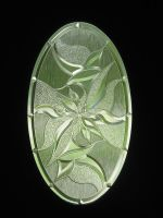Etched Glass Door by flordelys-stock