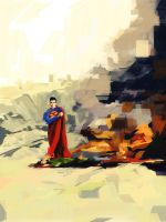 Superman by GuillermoMuller