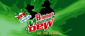 MOUNTAIN DEW LABEL by MadManny510