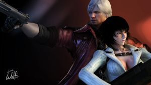 Dante and Lady: Showstoppers by LoneWolf117
