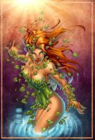 Poison Ivy by Mike Turner - Colored by LadyOrange