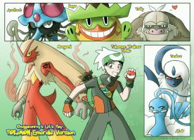 Old Art - Chuggaaconroy LP Pokemon Emerald by TwilitAngel