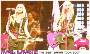 Avril on the best damn tour by vams
