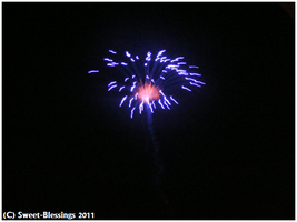 2011 Fireworks I by Sweet-Blessings