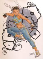 Chun Li by KidNotorious