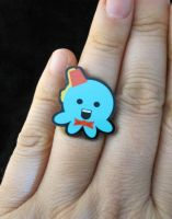 Fez and a Bowtie Octopus Ring by egyptianruin