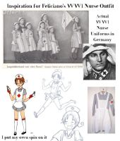 Nurse Uniform Inspiration by Arkham-Insanity