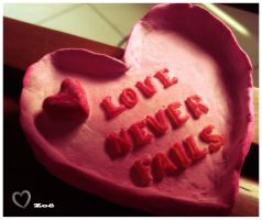 Love Never Fails by Vallia