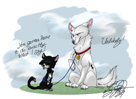 Bolt and Mittens by Boltfc
