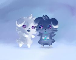 Couple of Espurr by Thalassal