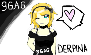 9GAG's Derpina [Anime Ver] by RobertHaydn23