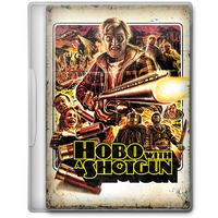 Hobo with a Shotgun (2011) Movie DVD Icon by A-Jaded-Smithy