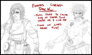 Enormous Lineart Pack by arvalis