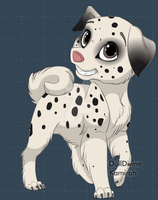 Dog adopt 04 OPEN by TranquilityBlue