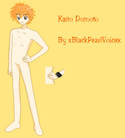Kaito Domoto Base -OLD- by BlackPearlBases
