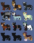 Lion Adoptables: open by smudge-92