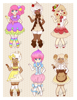Sweets Adopts [CLOSED] by Pyonkotcchi