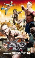 WWE Summerslam 2011 by Gogeta126
