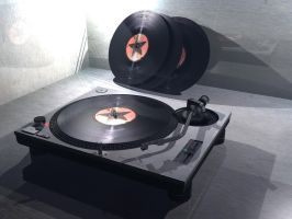 Turntable Model by ABeautifulTragedy