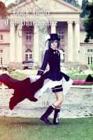 Black Butler: Look at my Dress, Sebastian! xD by HeavenCatTheRealOne